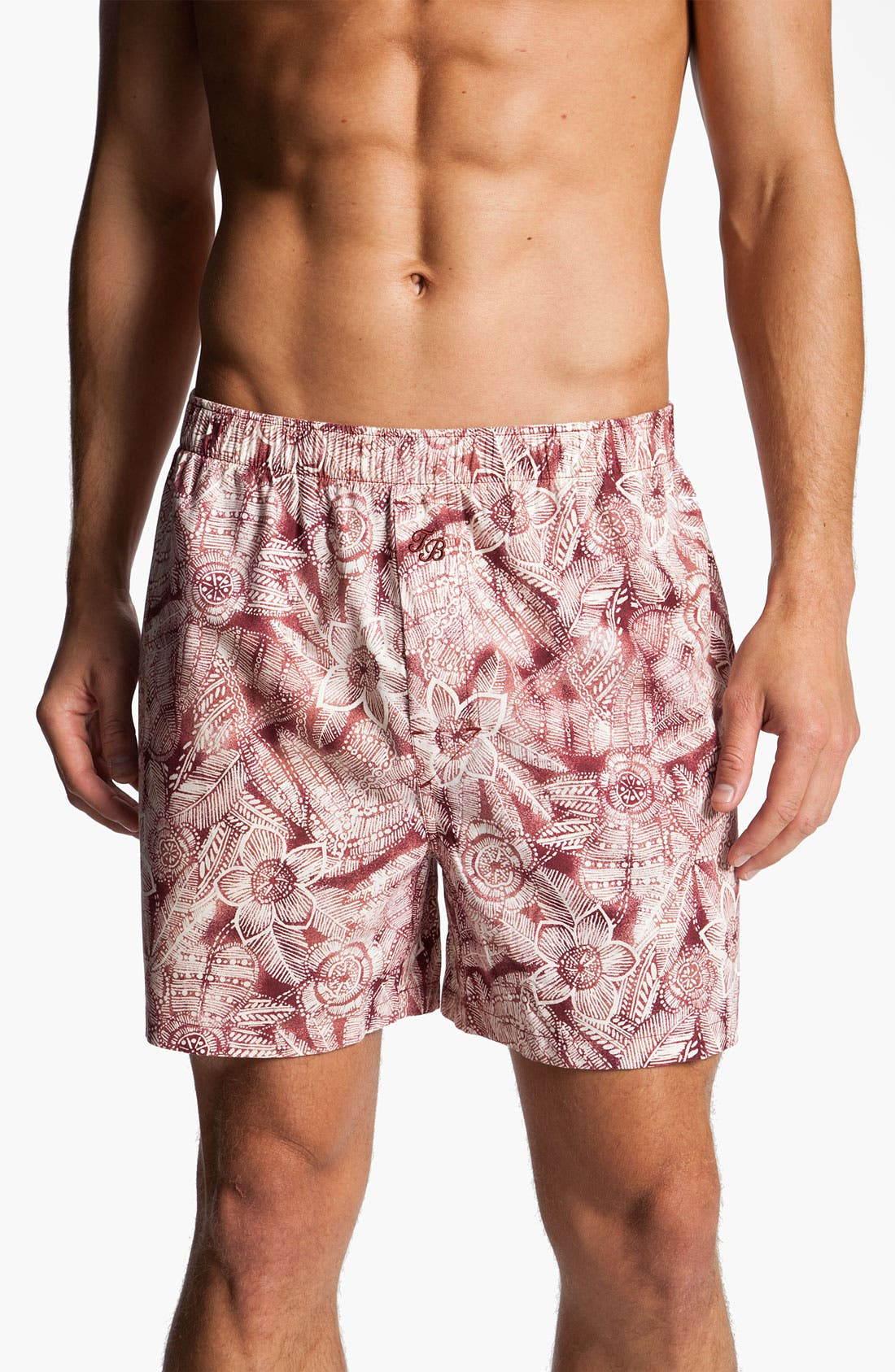 Alternate Image 1 Selected - Tommy Bahama Print Cotton Boxers (Assorted 2-Pack)