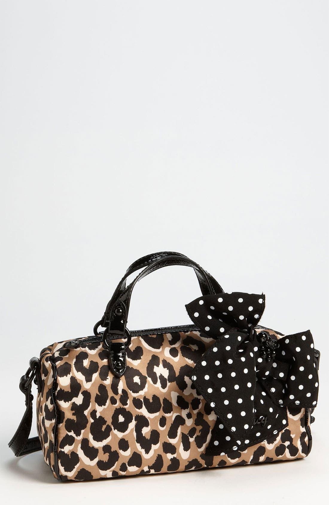 Main Image - Juicy Couture 'Mini - Steffy' Crossbody Satchel (Girls)