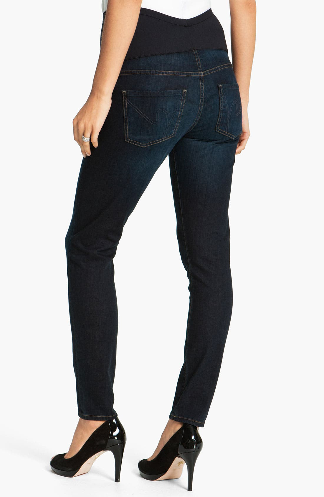 Alternate Image 2  - Citizens of Humanity 'Ava' Maternity Straight Leg Jeans (Faith)