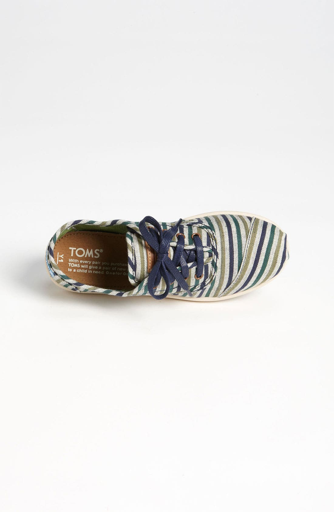 Alternate Image 3  - TOMS 'Cordones Youth - Renato' Slip-On (Toddler, Little Kid & Big Kid)