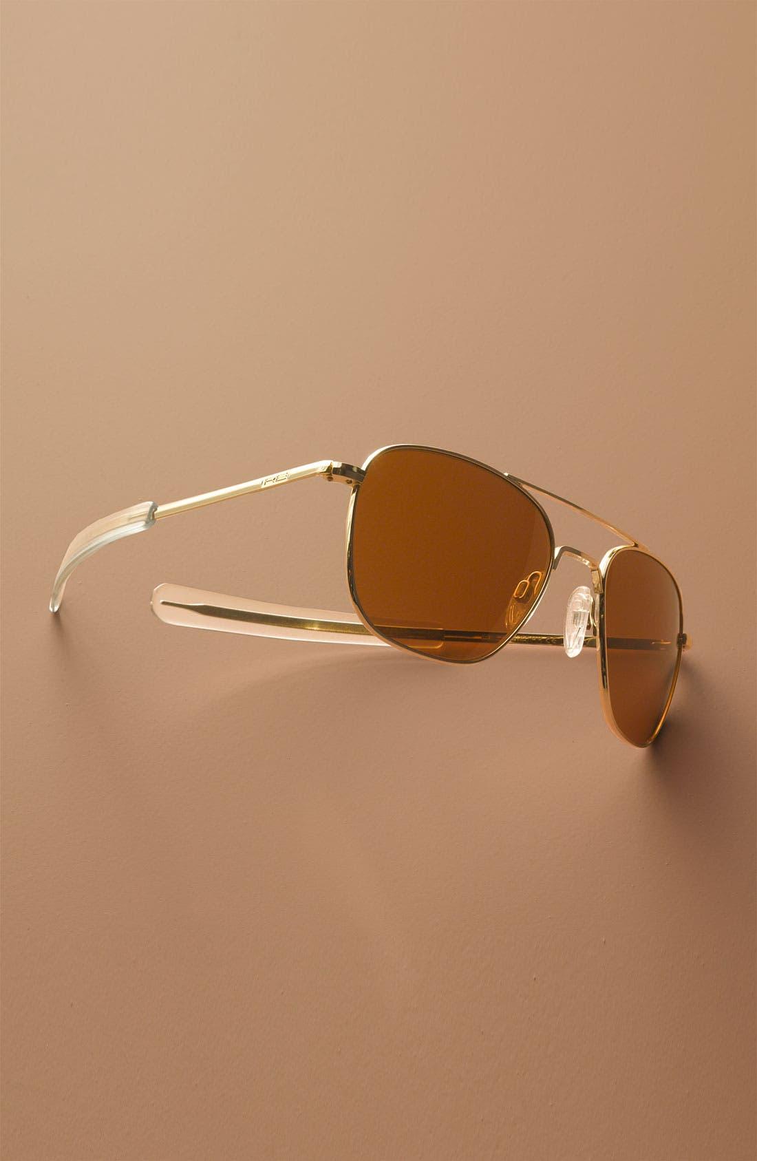 Alternate Image 2  - Randolph Engineering 55mm Aviator Sunglasses