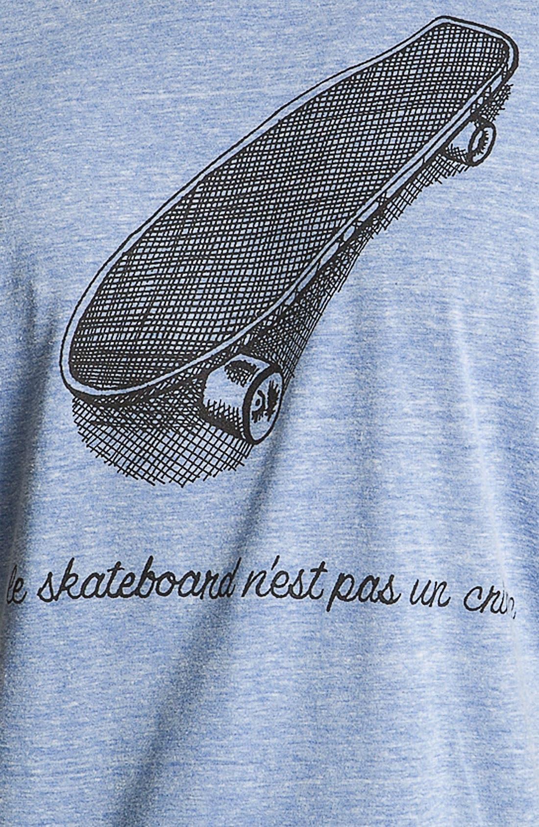 Alternate Image 3  - Altru 'Le Skateboard' Graphic T-Shirt