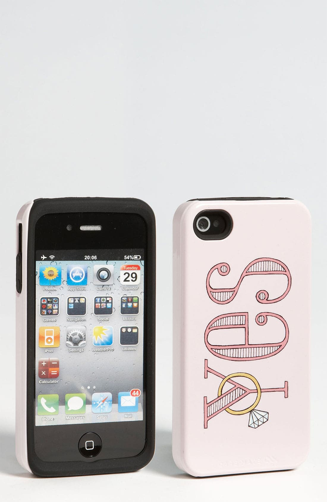 Alternate Image 1 Selected - Case-Mate® 'Yes' iPhone 4 & 4S Case