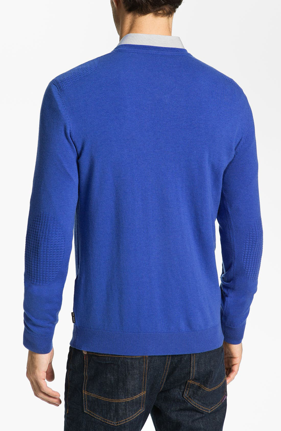 Alternate Image 2  - Ted Baker London 'Abadaz' V-Neck Sweater