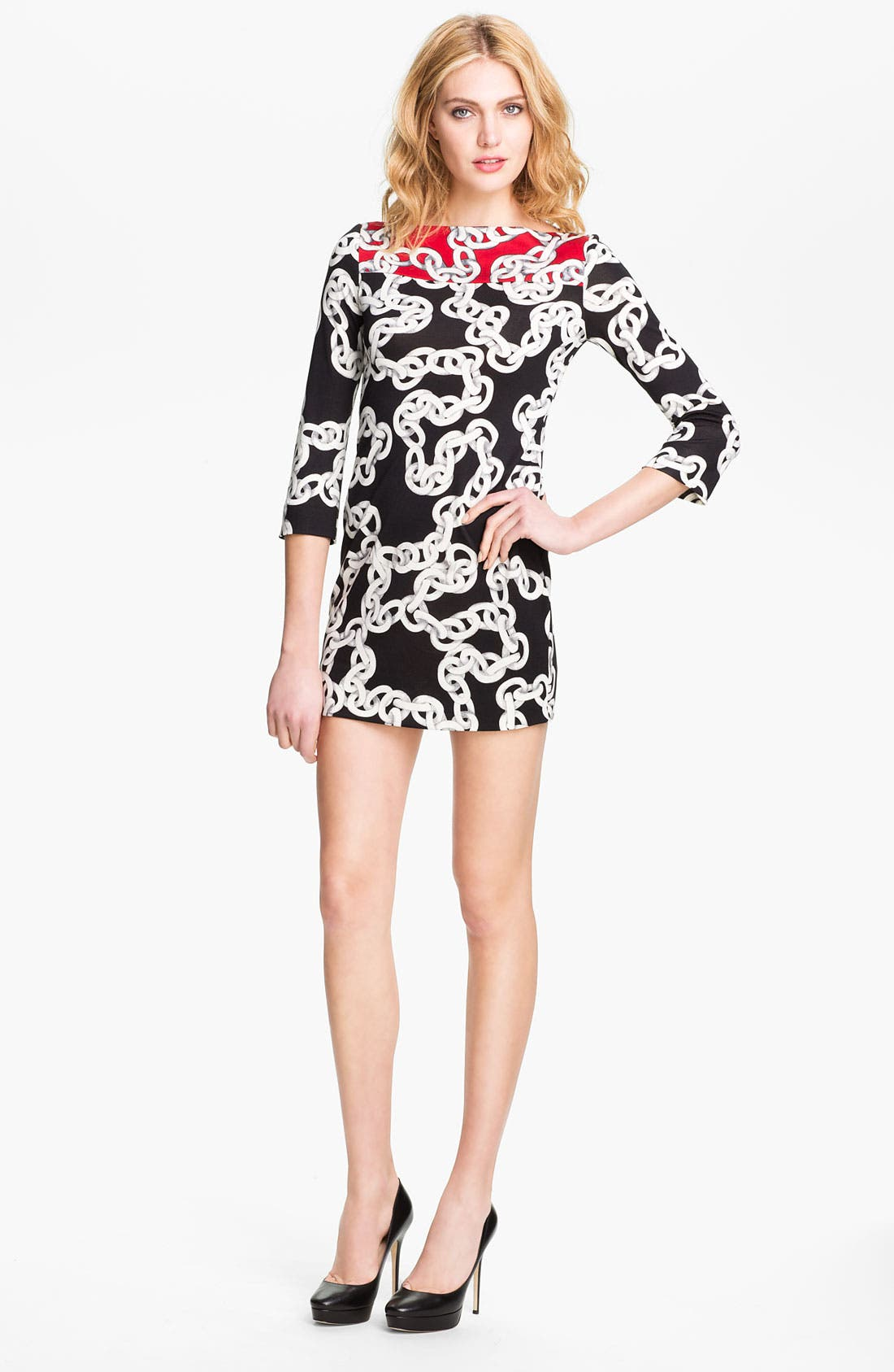 Alternate Image 1 Selected - Diane von Furstenberg 'Ruri' Silk Minidress