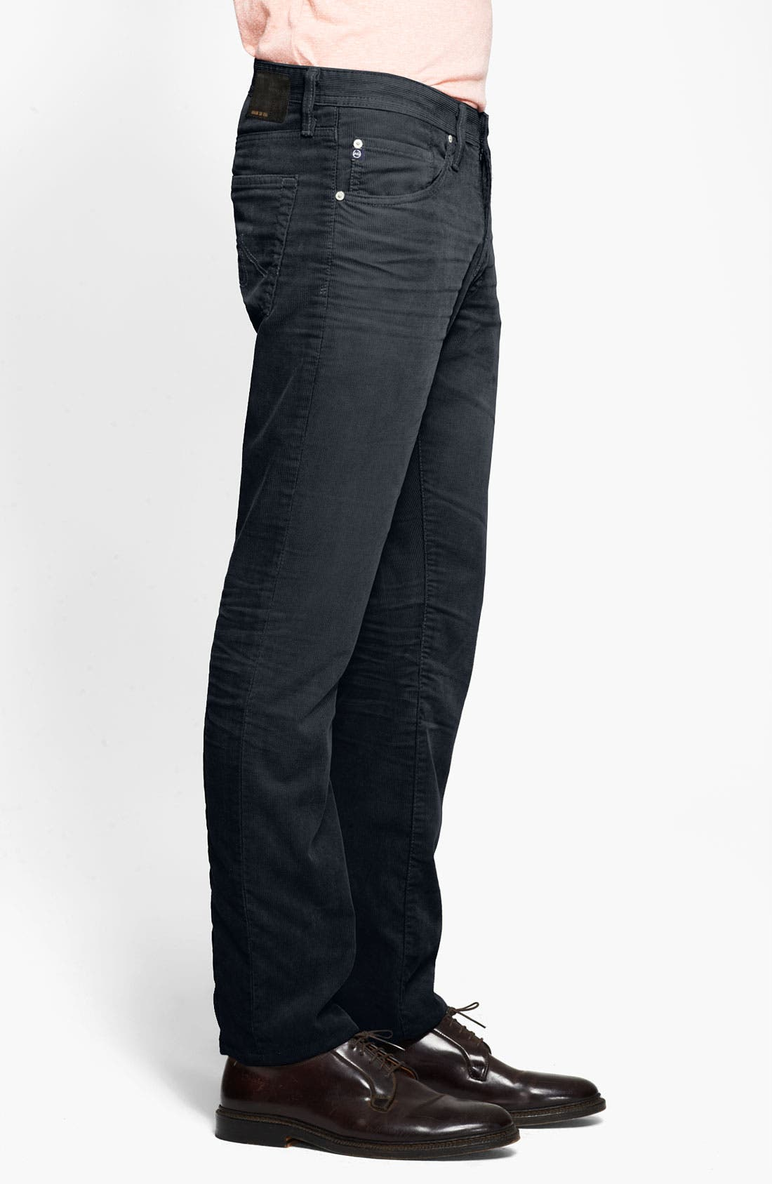 Alternate Image 3  - AG Jeans Straight Leg Corduroy Pants