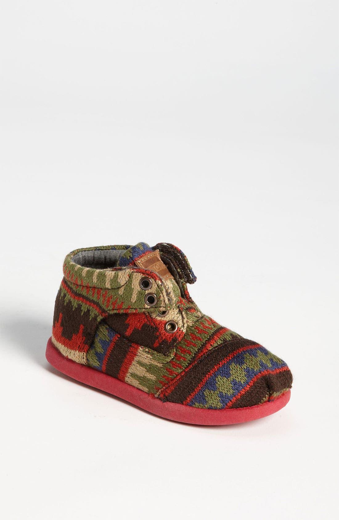 Alternate Image 1 Selected - TOMS 'Botas Tiny - Kilim' Boot (Baby, Walker & Toddler)