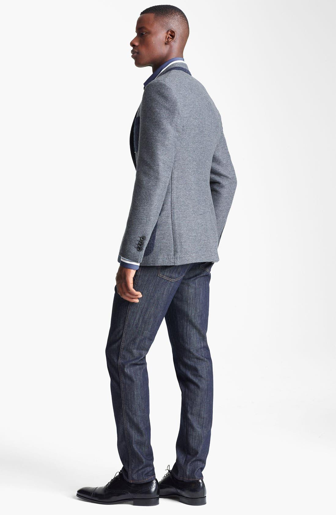 Alternate Image 5  - Salvatore Ferragamo 'Giacca Monopetto' Wool Blend Sportcoat