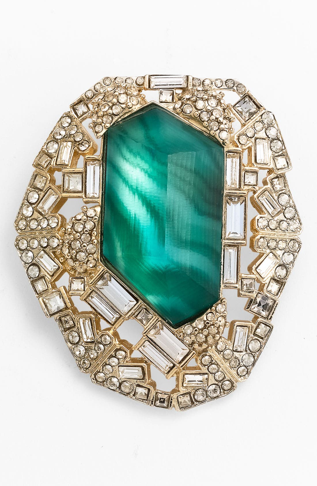 Alternate Image 1 Selected - Alexis Bittar 'Teatro Modern' Statement Pin (Nordstrom Exclusive)