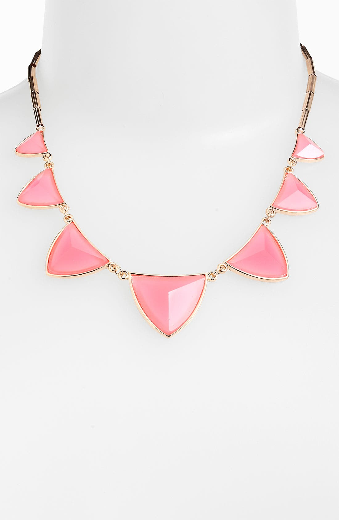 Main Image - Stephan & Co. Pyramid Facet Necklace