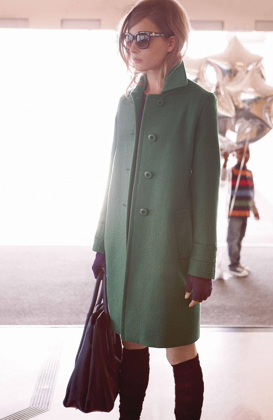 Alternate Image 4  - Kristen Blake Single Breasted Walking Coat