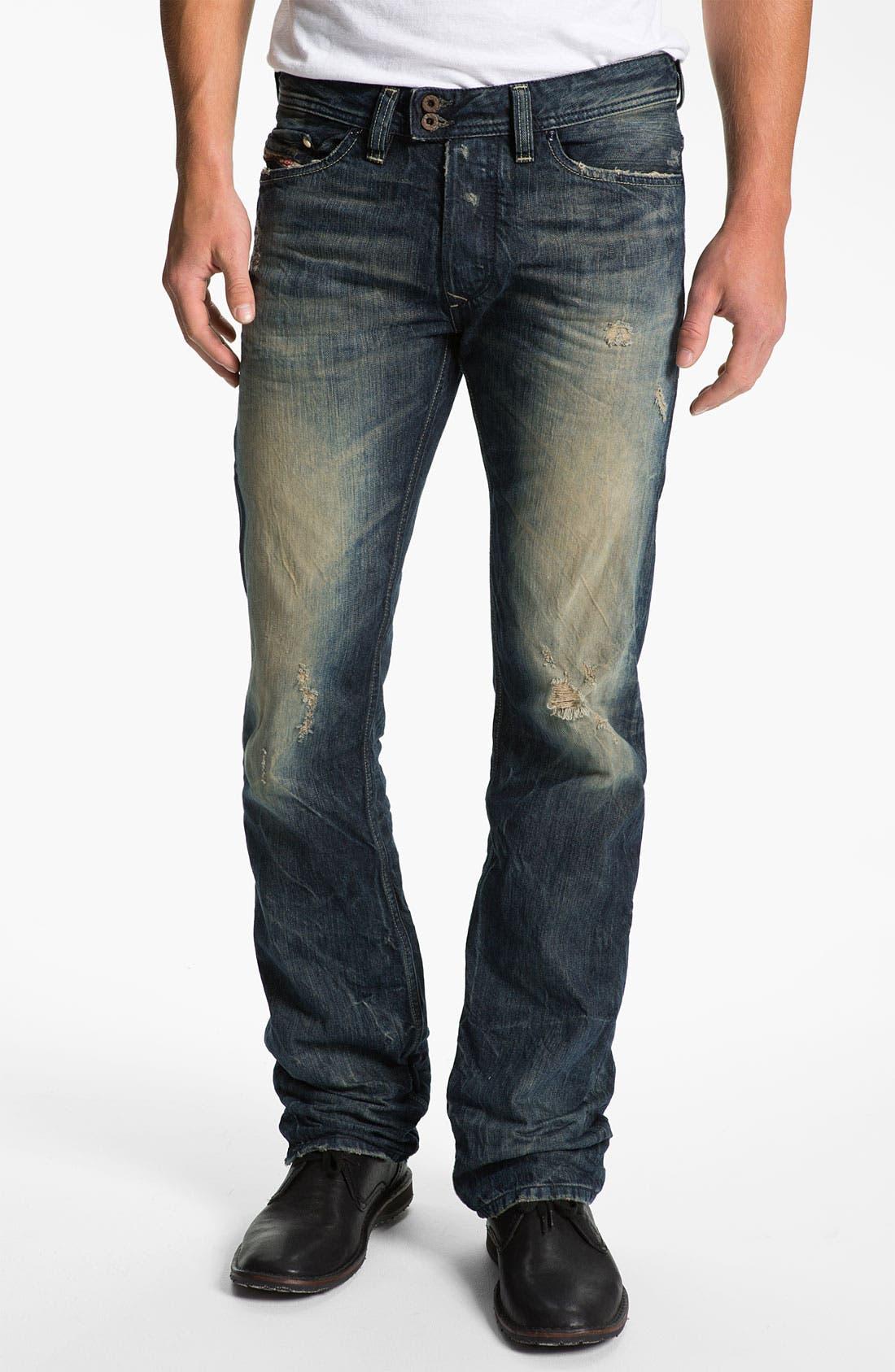 Alternate Image 2  - DIESEL® 'Viker' Straight Leg Jeans