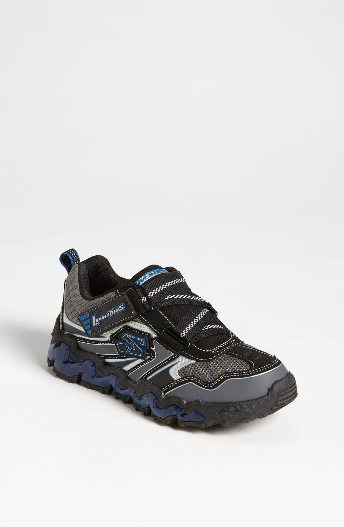 Alternate Image 1 Selected - SKECHERS 'Nova Wave' Light-Up Sneaker (Toddler & Little Kid)