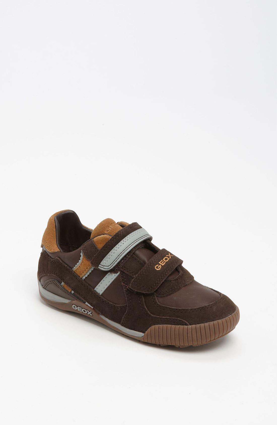 Alternate Image 1 Selected - Geox 'Olimpus' Sneaker (Toddler, Little Kid & Big Kid)