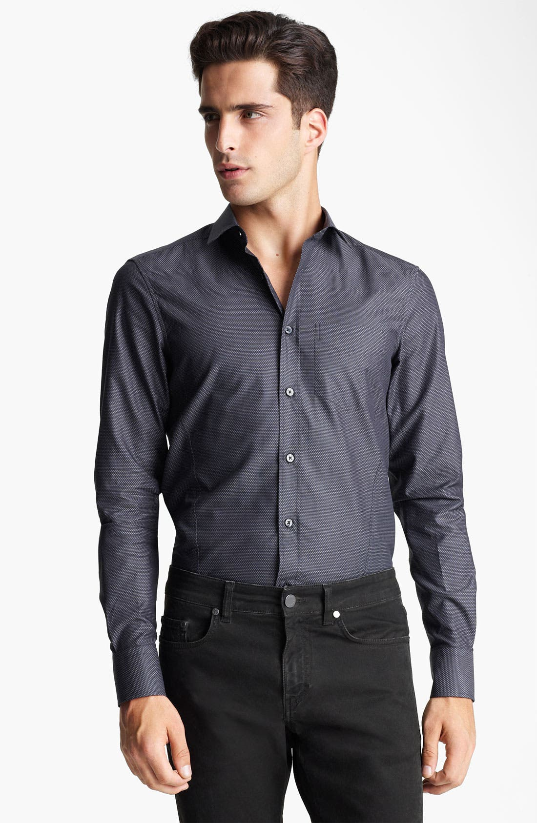 Main Image - Z Zegna Slim Fit Sport Shirt