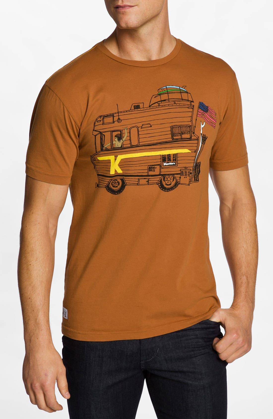 Alternate Image 1 Selected - Katin 'Route 66' Graphic T-Shirt