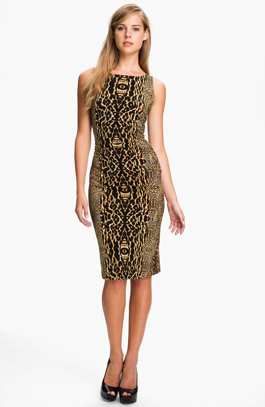 Alternate Image 1 Selected - KAMALIKULTURE Print Shirred Dress