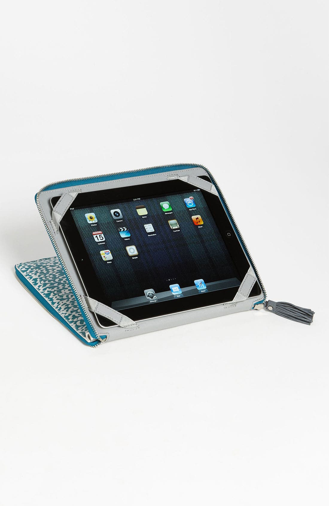 Alternate Image 3  - Diane von Furstenberg Print iPad Case