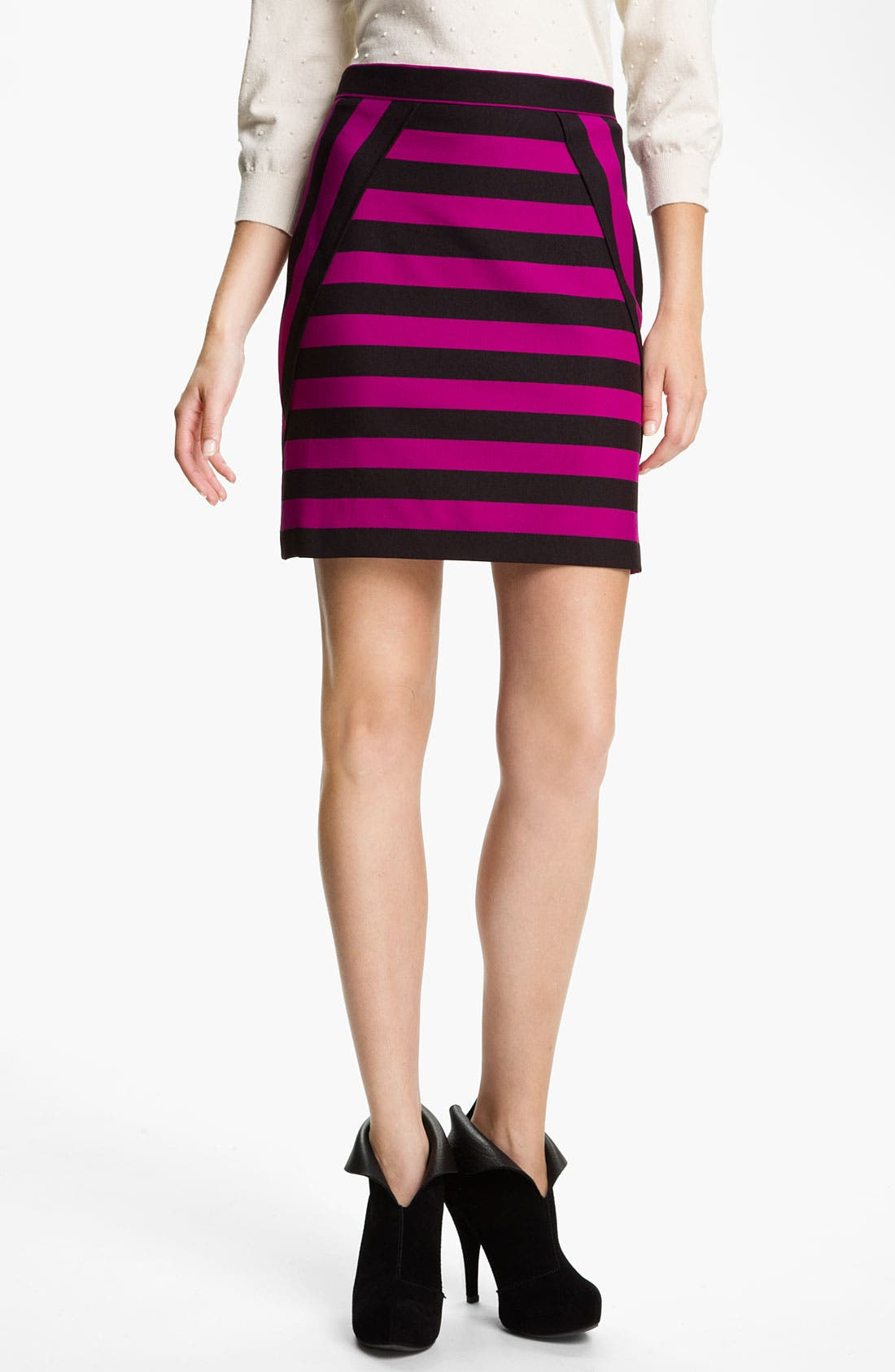 Alternate Image 1 Selected - MARC BY MARC JACOBS 'Scooter' Stripe Skirt
