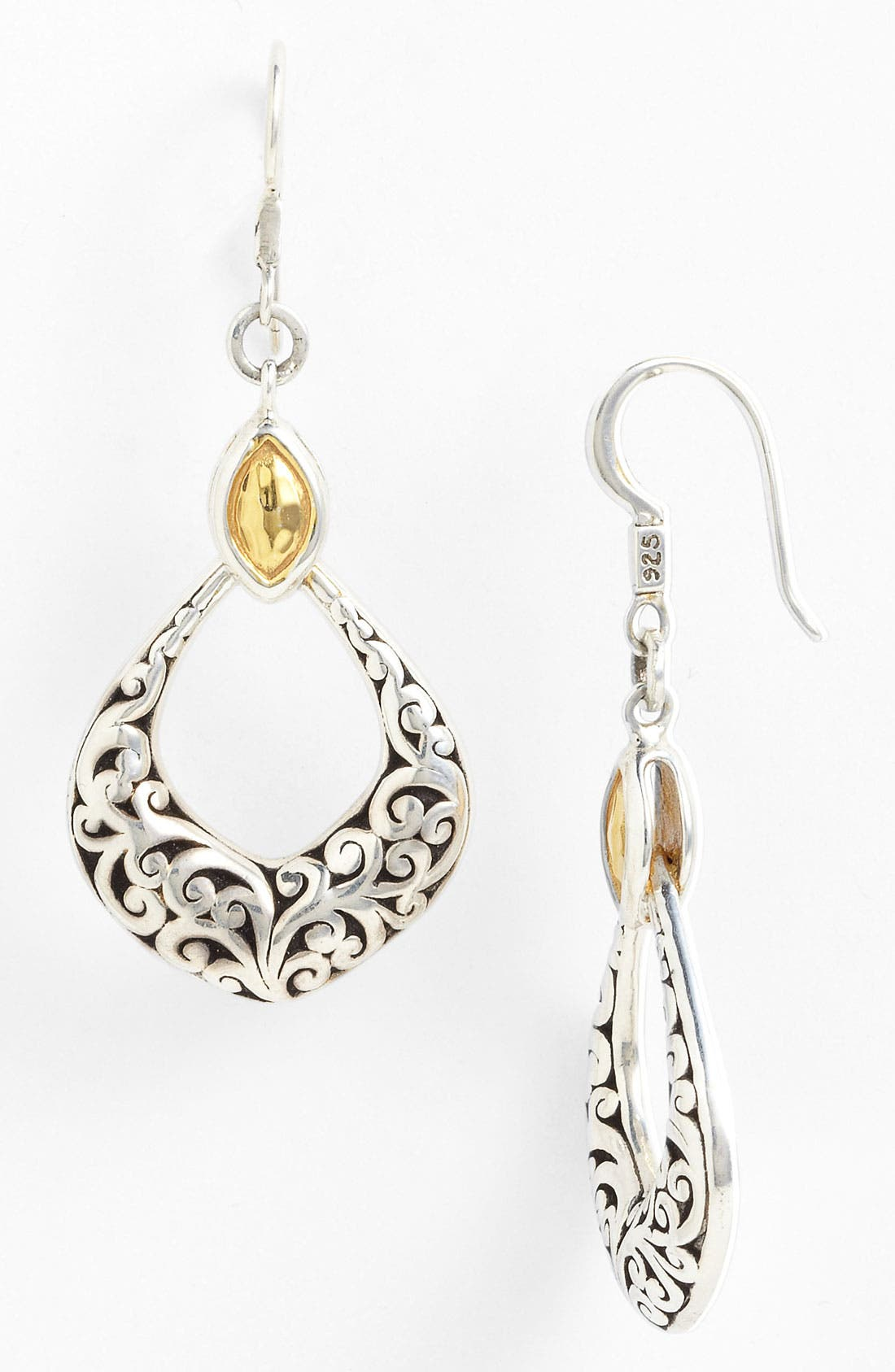 Alternate Image 1 Selected - Lois Hill 'Marquise' Open Drop Earrings