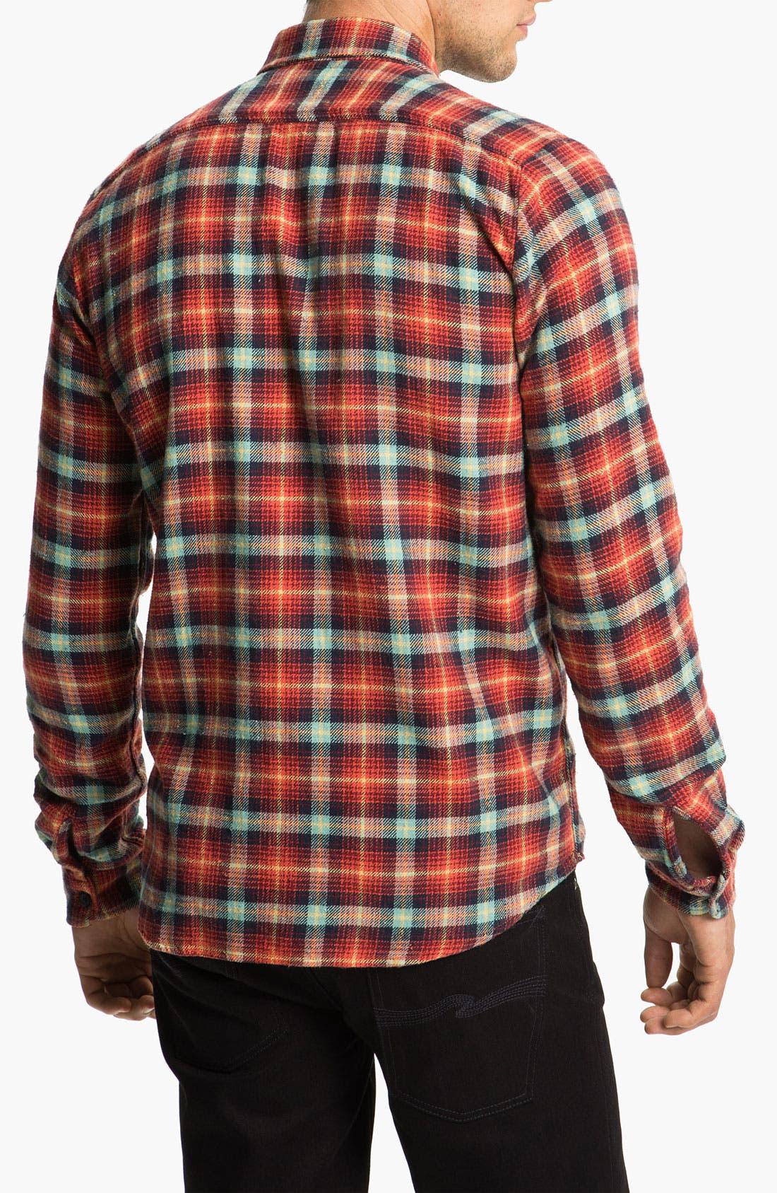 Alternate Image 2  - Nudie 'Marcel' Plaid Flannel Shirt