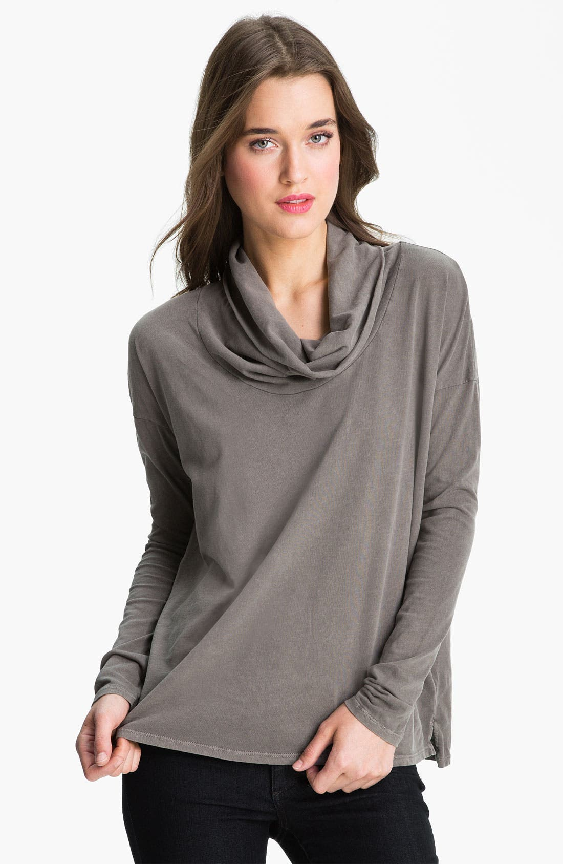 Main Image - James Perse Funnel Neck Top