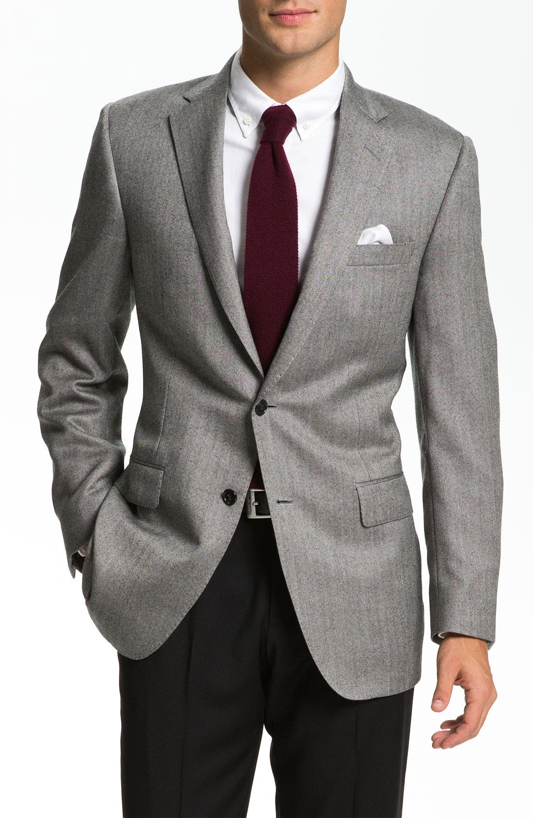 Alternate Image 1 Selected - Samuelsohn Cashmere Sportcoat