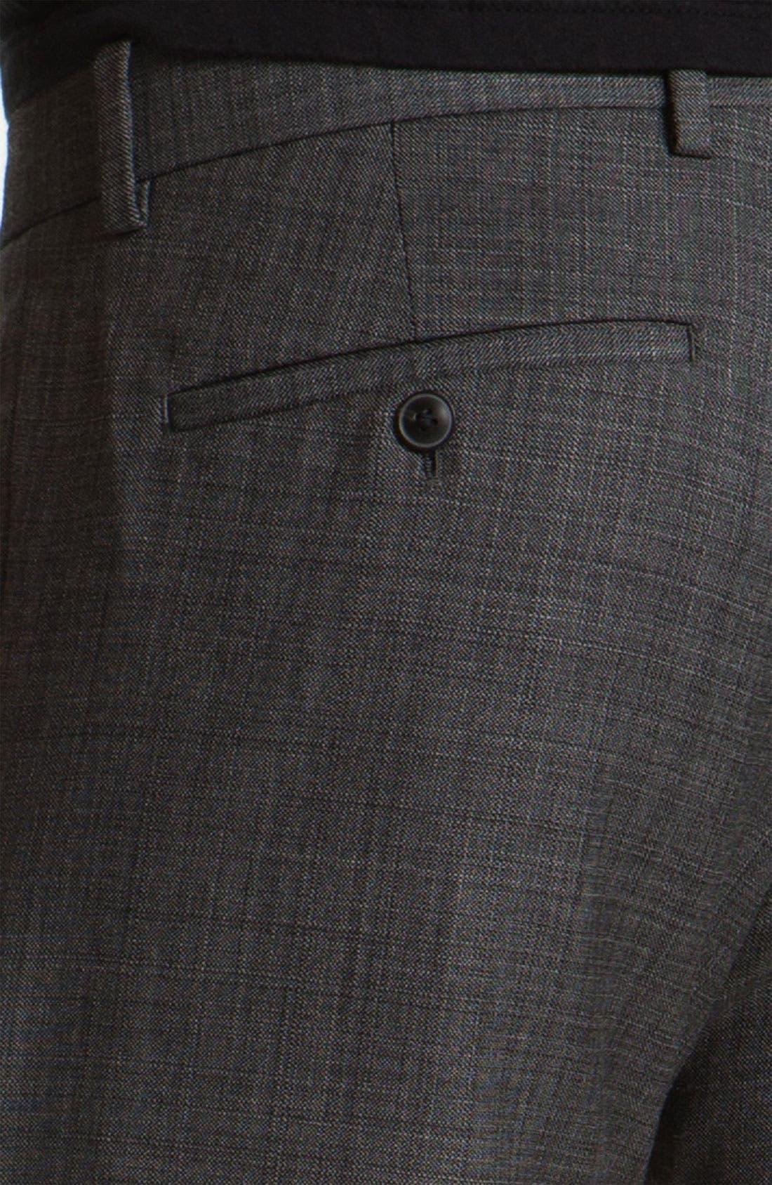 Alternate Image 3  - Theory 'Marlo LaJoux' Straight Leg Wool Pants