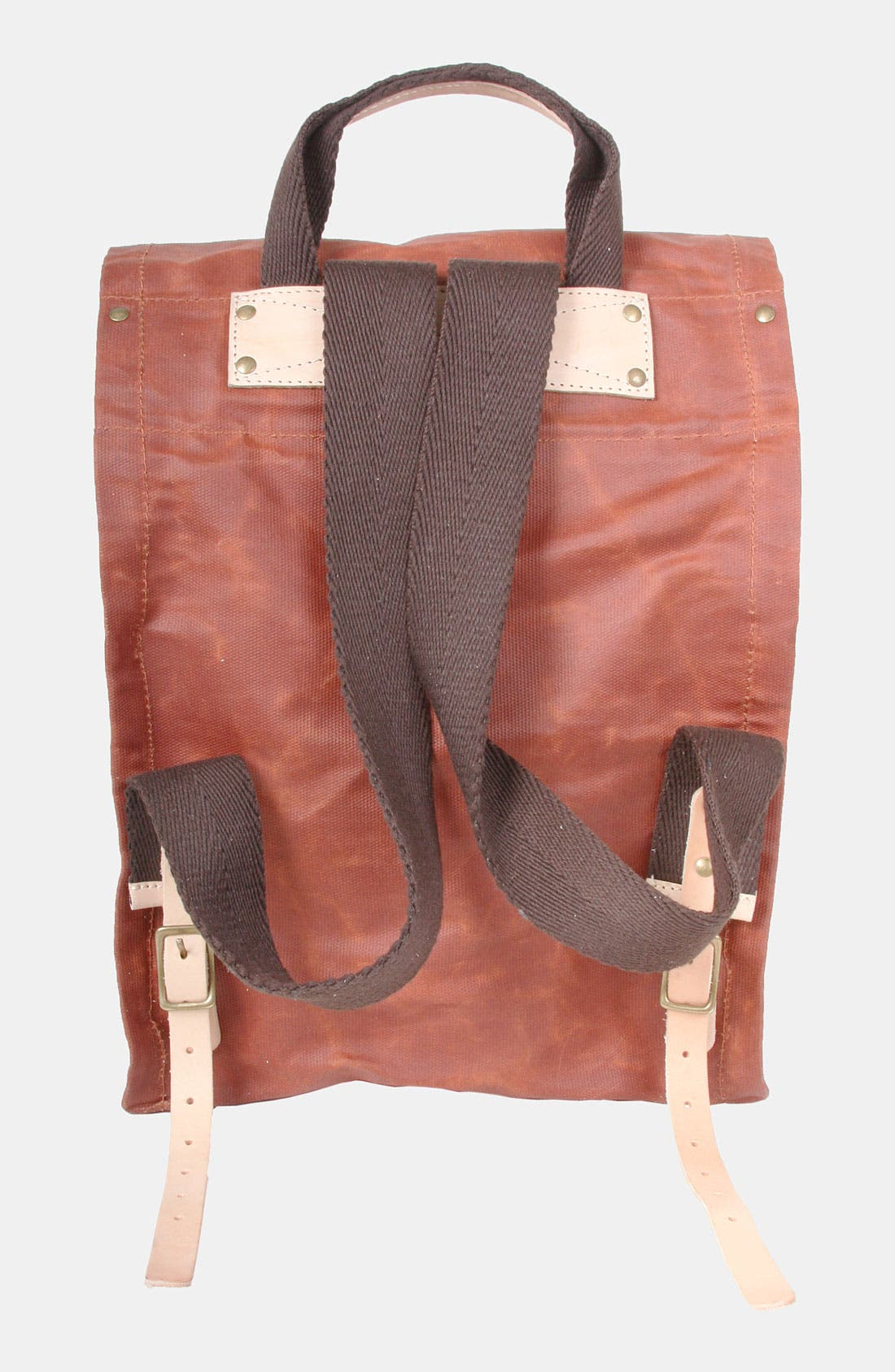 Alternate Image 2  - Will Leather Goods Waxed Canvas Backpack
