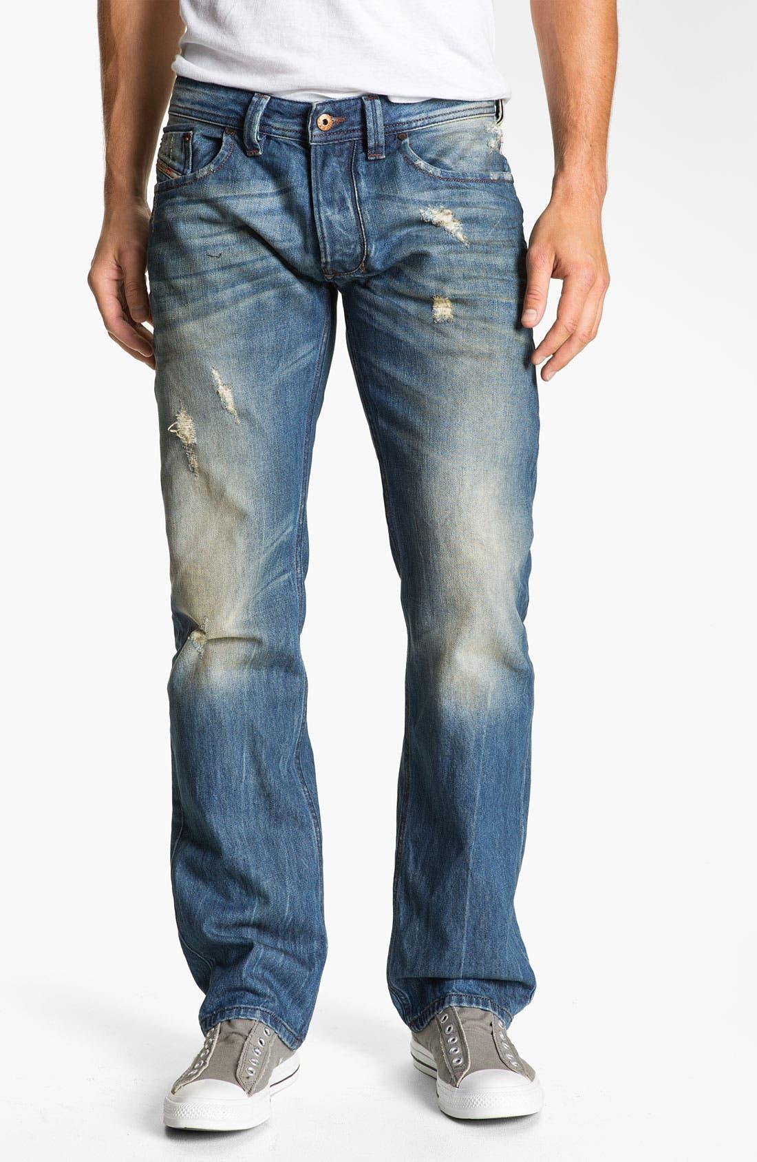 Alternate Image 1 Selected - DIESEL® 'Larkee' Straight Leg Jeans (0075I)