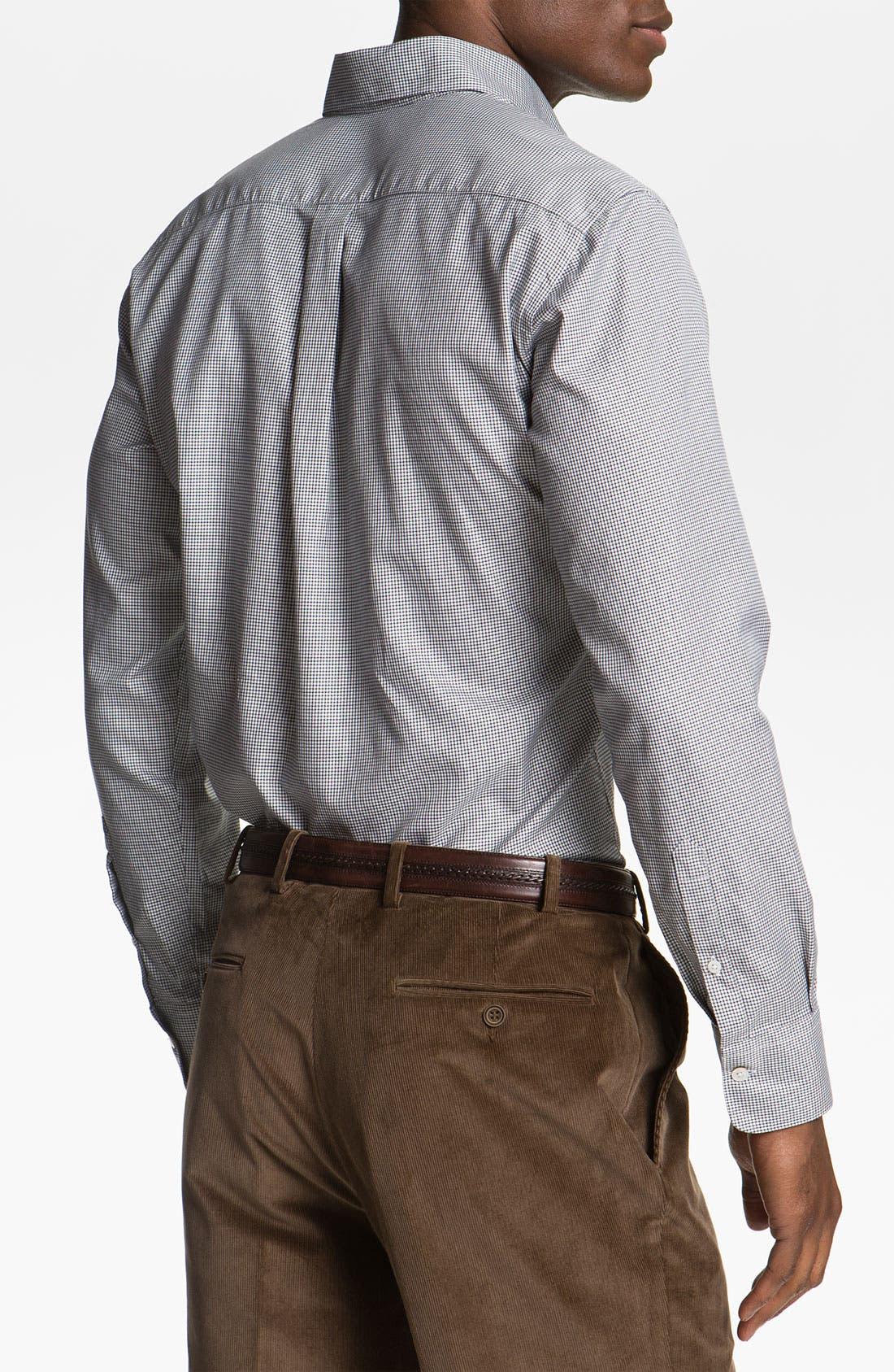 Alternate Image 2  - Canali Regular Fit Sport Shirt