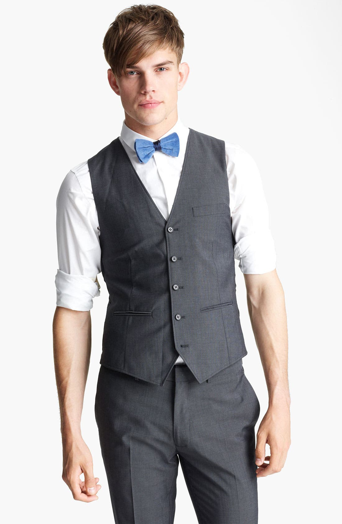 Alternate Image 1 Selected - Topman 'Novak' Waistcoat