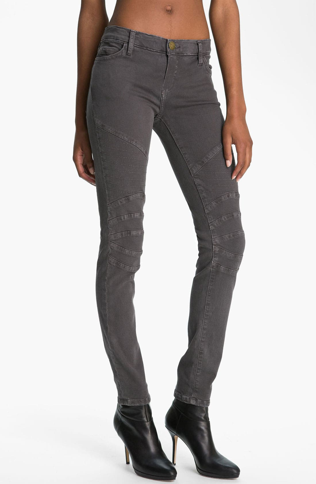 Alternate Image 1 Selected - Current/Elliott 'The Moto' Skinny Ankle Jeans
