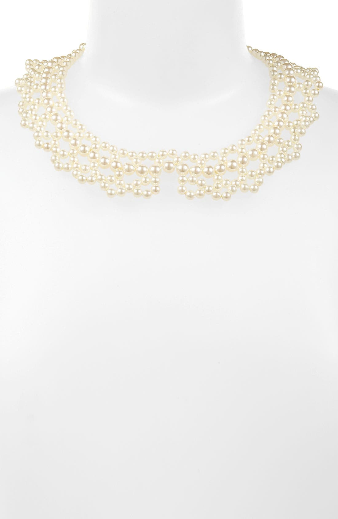 Main Image - Rachel Faux Pearl Collar Necklace