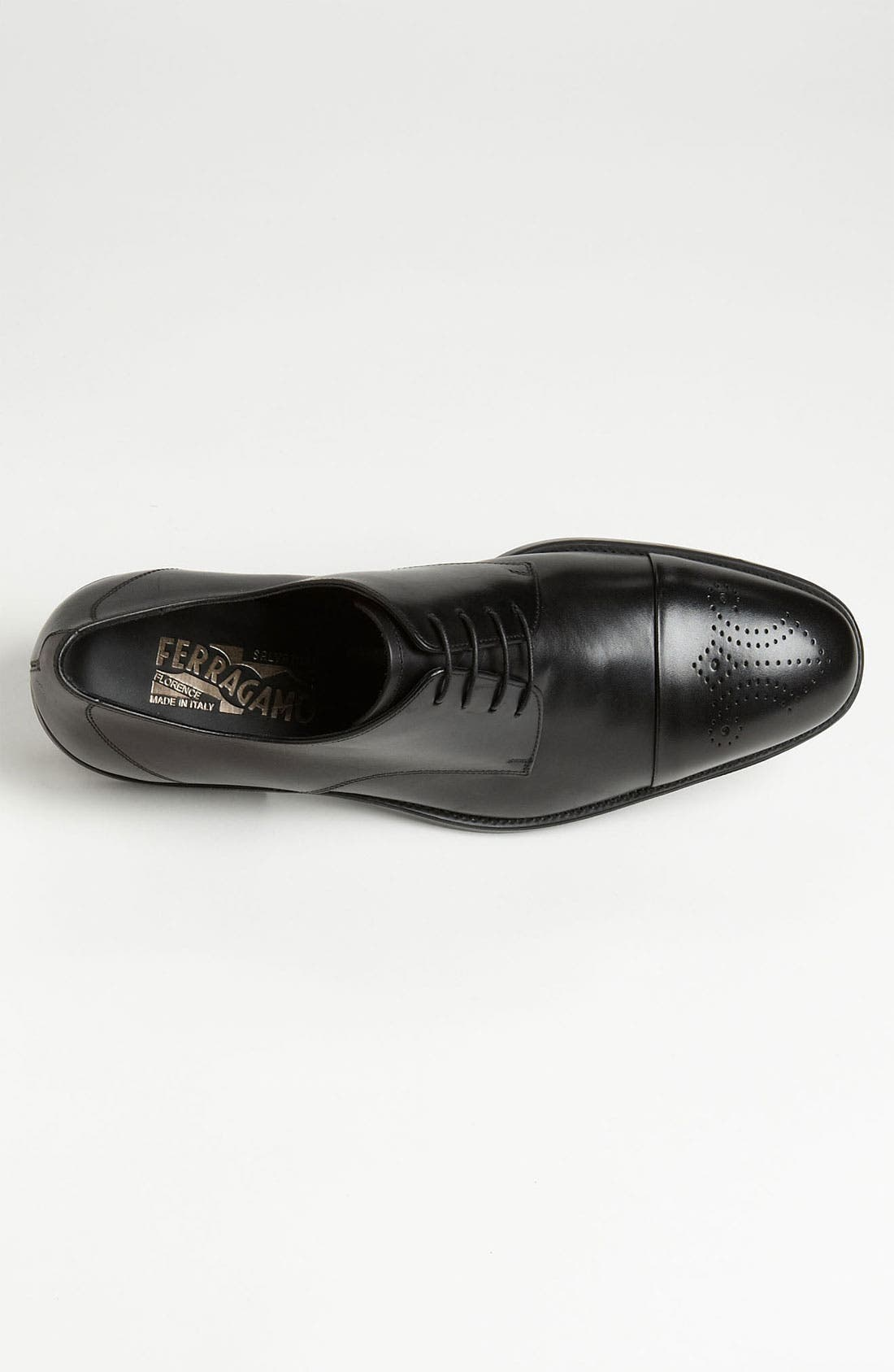 Alternate Image 2  - Salvatore Ferragamo 'Aramix' Cap Toe Derby