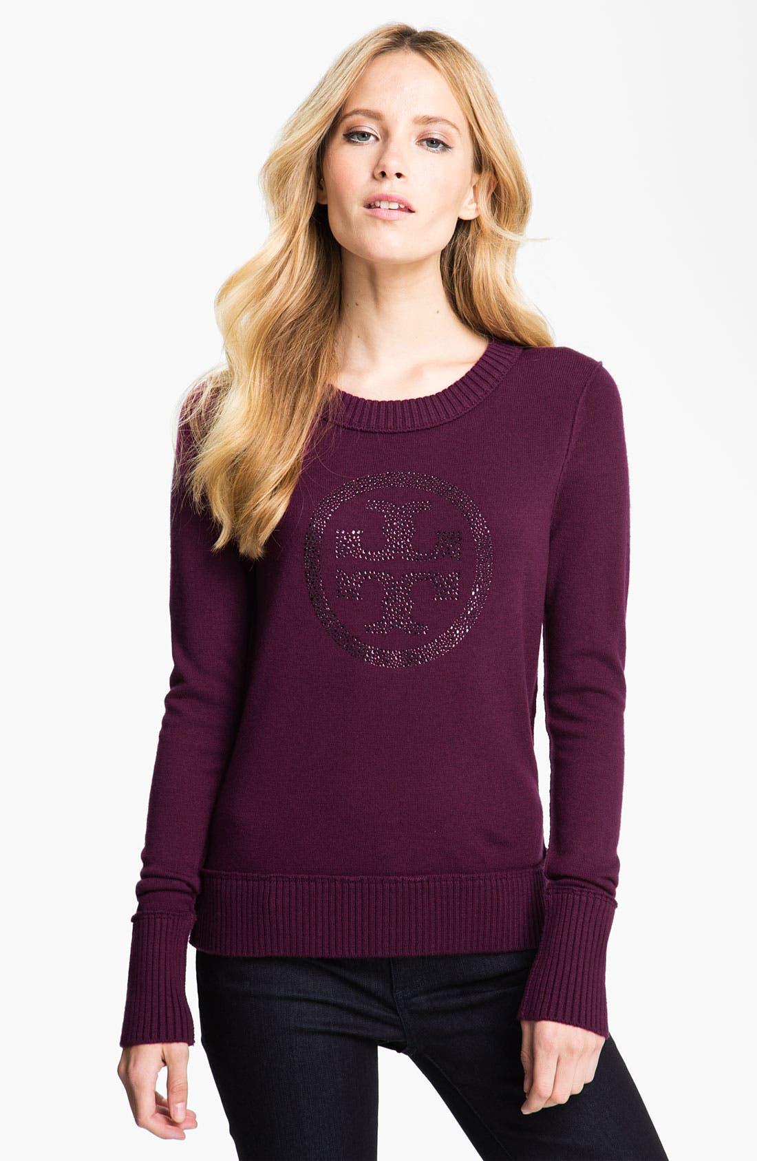 Alternate Image 1 Selected - Tory Burch 'Bridgette' Sweater