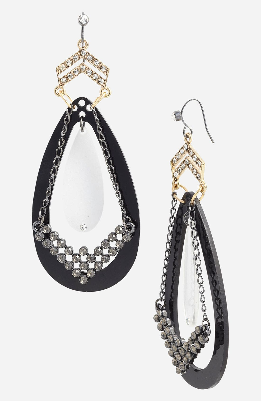 Alternate Image 1 Selected - Jewelry Fashions 'Chevron Empress' Earrings