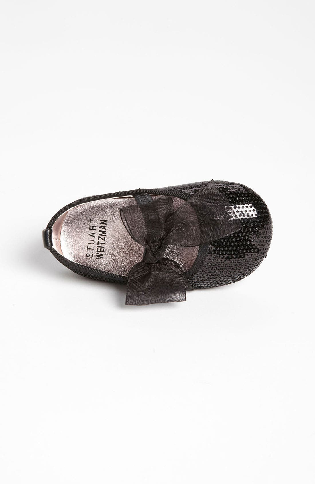 Alternate Image 3  - Stuart Weitzman 'Baby Bling' Crib Shoe (Baby & Walker)