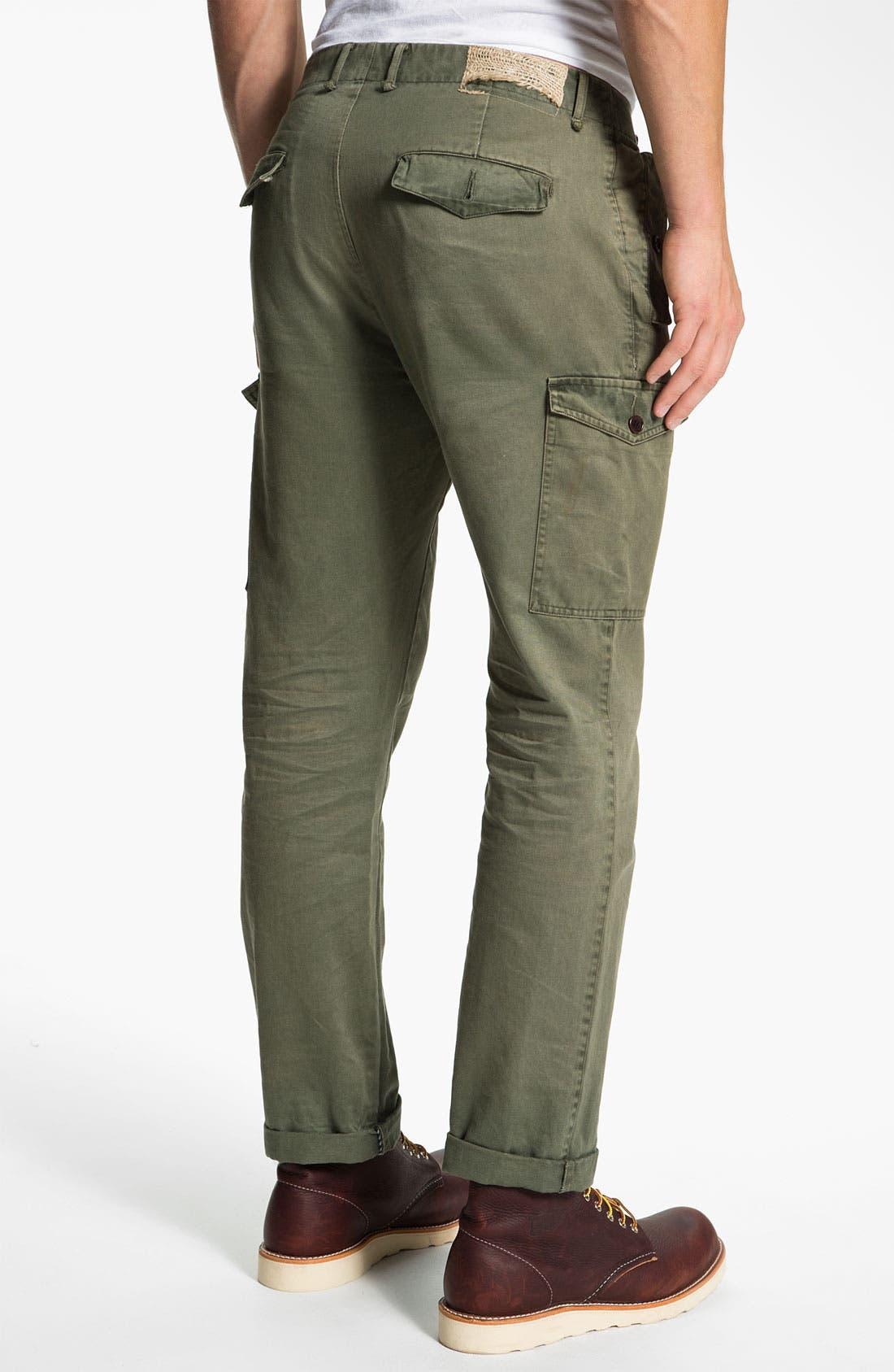 Alternate Image 2  - Riviera Club Slim Straight Leg Cargo Pants