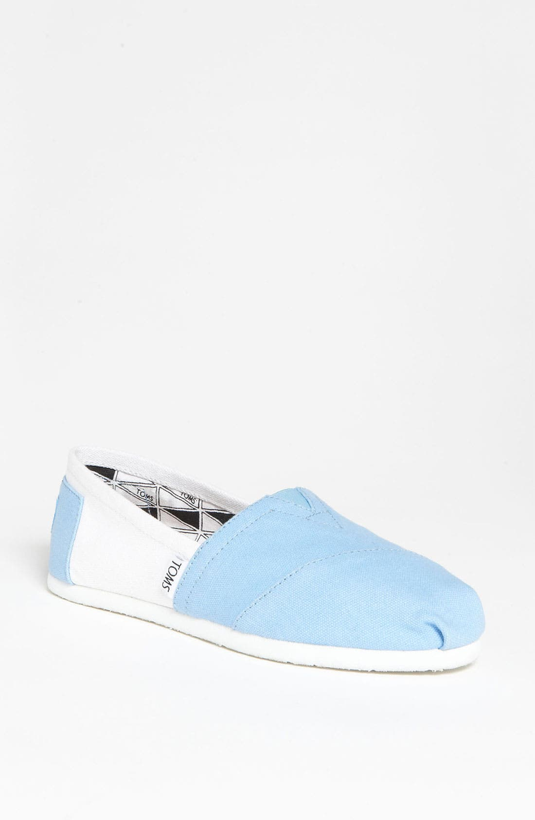 Alternate Image 1 Selected - TOMS 'Campus Classics - UNC' Slip-On (Women)
