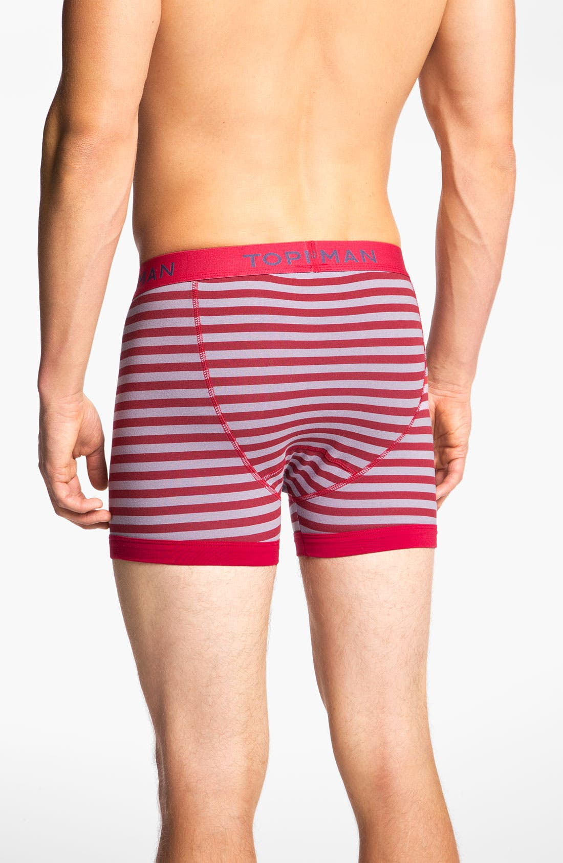 Alternate Image 3  - Topman Stripe Boxer Briefs (3-Pack)
