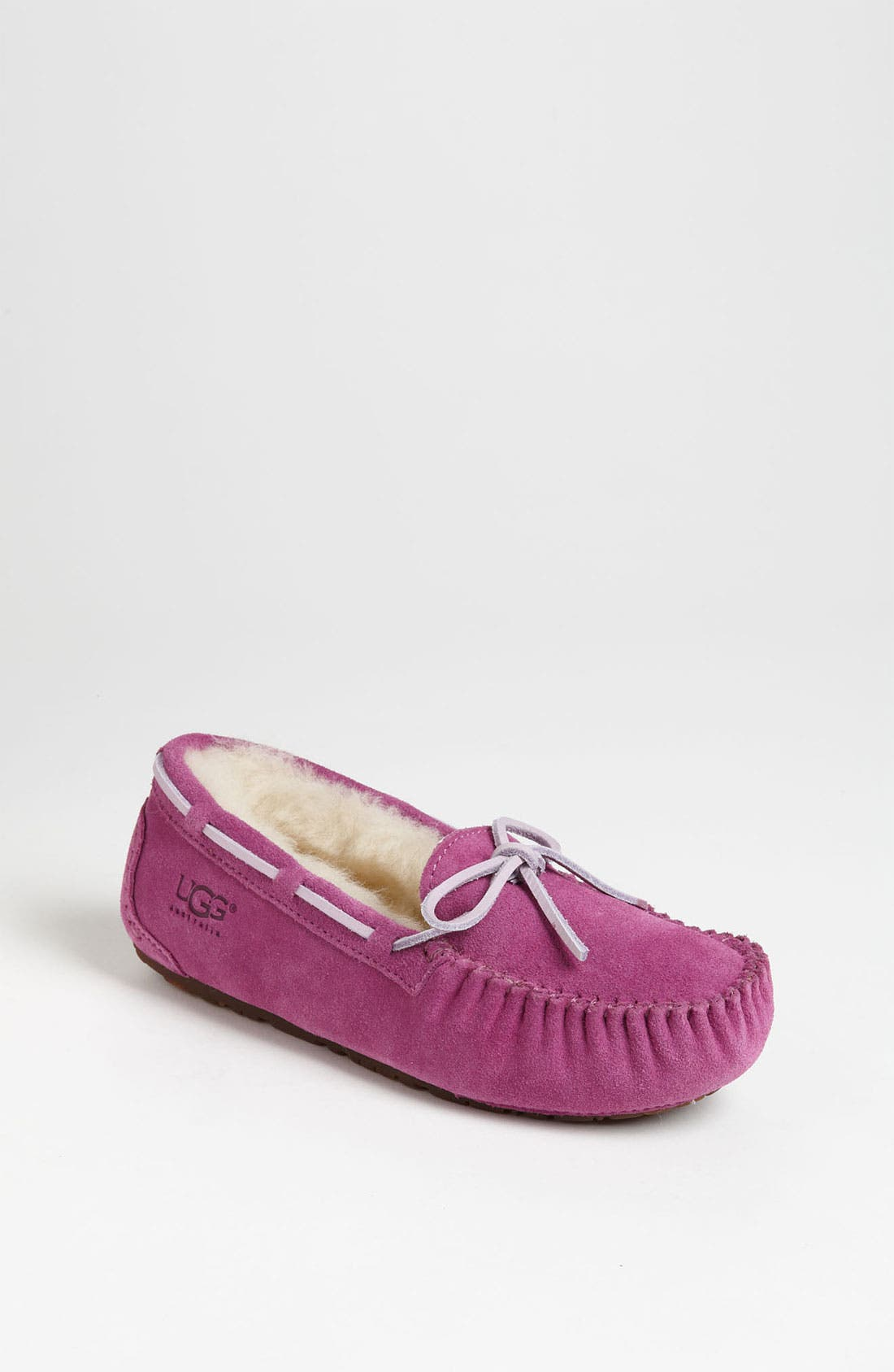 Alternate Image 1 Selected - UGG® 'Dakota' Moccasin (Little Kid & Big Kid)