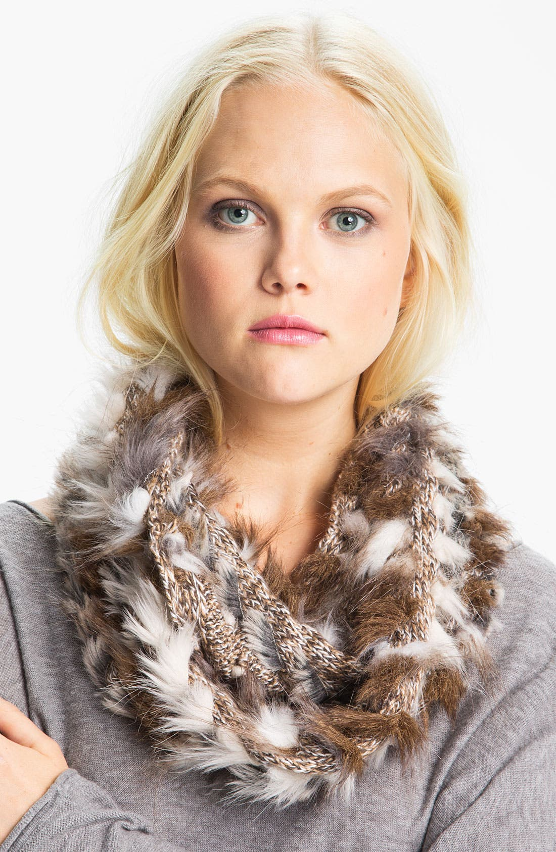 Alternate Image 1 Selected - Collection XIIX Mixed Faux Fur Muffler