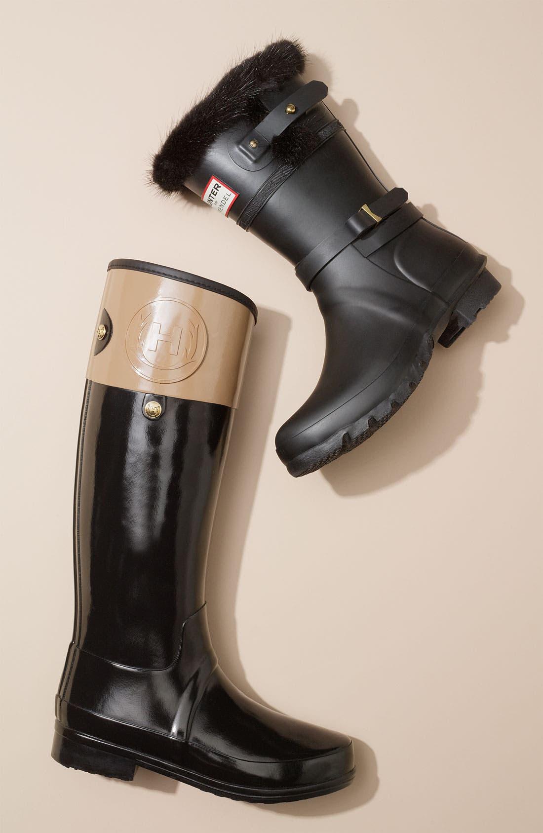 Alternate Image 5  - Hunter for J. Mendel Genuine Fur Trim Boot (Women)
