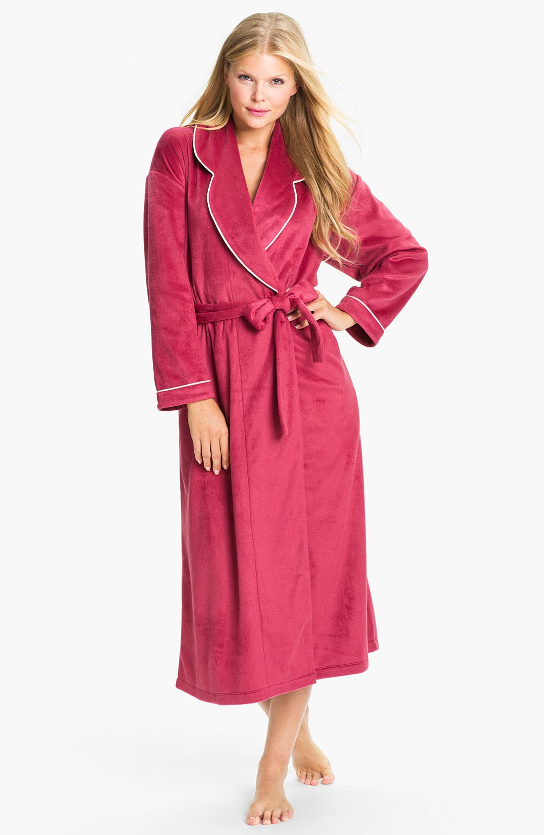 Alternate Image 1 Selected - Eileen West 'Empress' Velour Robe