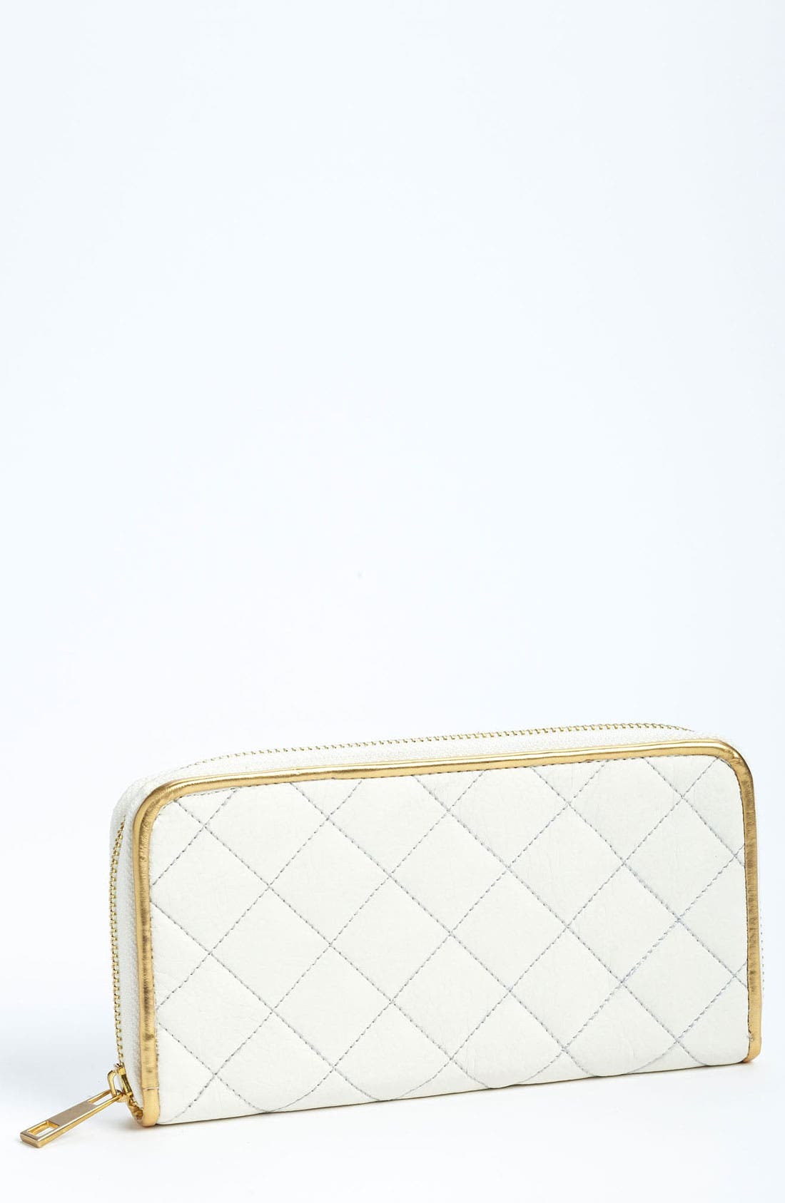 Main Image - Top Choice Quilted Zip Wallet