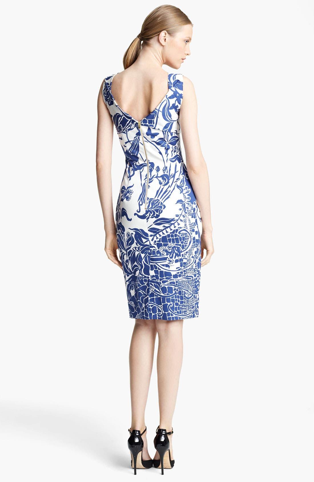 Alternate Image 2  - Emilio Pucci Print Dress