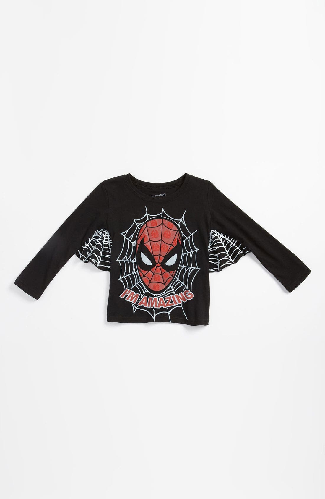 Alternate Image 1 Selected - Mighty Fine 'Spider-Man®' T-Shirt (Toddler)