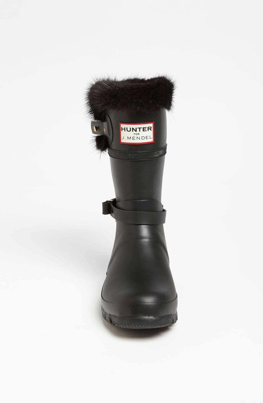 Alternate Image 3  - Hunter for J. Mendel Genuine Fur Trim Boot (Women)
