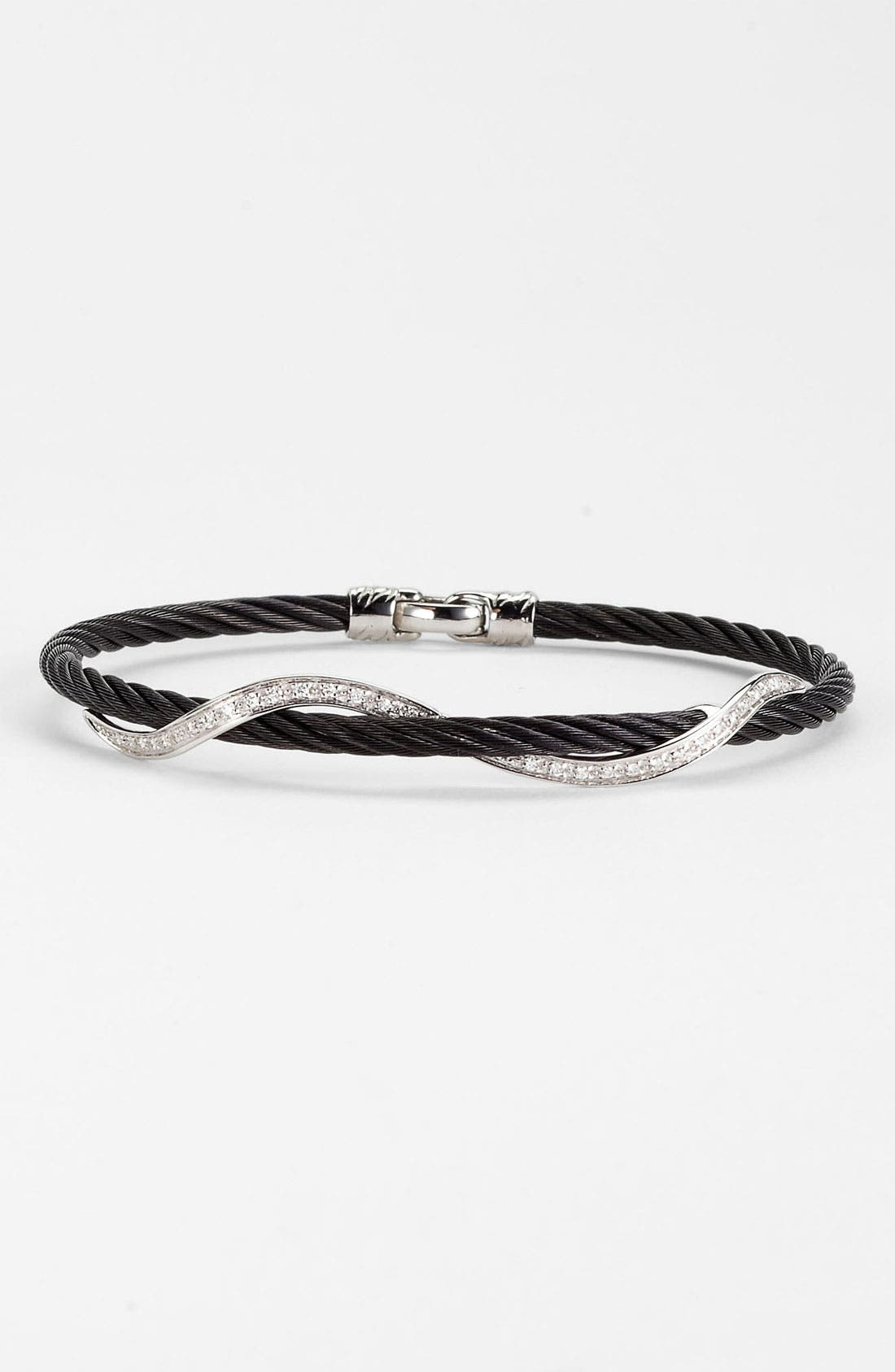 Alternate Image 1 Selected - ALOR® Diamond Twist Bracelet